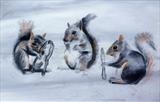 2 by Marc Heaton, Drawing, Pastel on Paper
