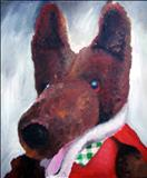 Basil by Marc Heaton, Painting, Oil on canvas