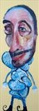 Big Head by Marc Heaton, Painting, Oil on Wood