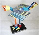 Bird by Marc Heaton, Sculpture, Wood