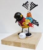 Birdie by Marc Heaton, Sculpture, Golf equipment