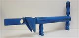 Blue Dachshund by Marc Heaton, Sculpture