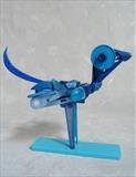 Bluebird by Marc Heaton, Sculpture, Found Beach Plastic