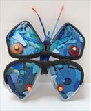 Butterfly by Marc Heaton, Sculpture, Found Beach Plastic
