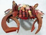 Crab by Marc Heaton, Sculpture, Wood