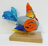 Fish by Marc Heaton, Sculpture, Found Beach Plastic