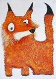 Foxy by Marc Heaton, Painting