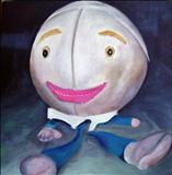 Humpty by Marc Heaton, Painting, Oil on canvas