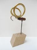 Insect by Marc Heaton, Sculpture, Badle,curtain rings&hook