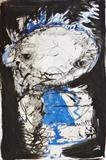 Little girl by Marc Heaton, Drawing, Block printing water colour on paper