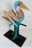 Love Birds by Marc Heaton, Sculpture, Wood