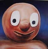 Morph Bendy Toy by Marc Heaton, Painting, Oil on Wood