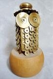 My Bubo by Marc Heaton, Sculpture, Mirror plates and door knobs