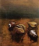 Nuts 1 by Marc Heaton, Painting, Oil on Board