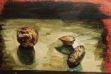 Nuts 3 by Marc Heaton, Painting, Oil on Board
