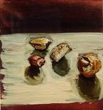 Nuts 4 by Marc Heaton, Painting, Oil on Wood