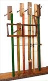 Orchestra 2014 by Marc Heaton, Sculpture, Piano parts&wood planes