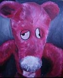 Pink Panther by Marc Heaton, Painting, Oil on canvas