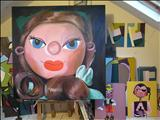 Puppet studio by Marc Heaton, Painting, Oil and Acrylic on Canvas