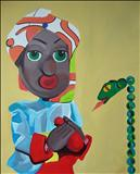 Puppet18 by Marc Heaton, Painting, Acrylic on canvas