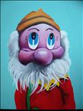 Puppet18 by Marc Heaton, Painting, Oil and Acrylic on Canvas