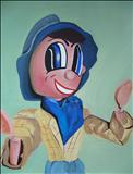 Puppet20 by Marc Heaton, Painting, Acrylic on canvas
