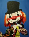 Puppet3 by Marc Heaton, Painting, Oil and Acrylic on Canvas