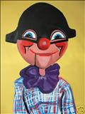 Puppet36 by Marc Heaton, Painting, Acrylic on canvas