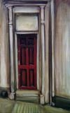 Red Door by Marc Heaton, Painting, Oil on canvas
