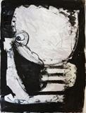 Sailor by Marc Heaton, Drawing, Block printing water colour on paper