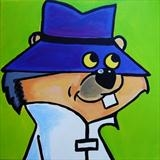 Secret Squirrel by Marc Heaton, Painting