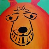 Space Hopper by Marc Heaton, Painting