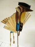 The Ruler by Marc Heaton, Sculpture, Wood
