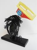 Toucan by Marc Heaton, Sculpture, Towel ring&Knife sharper&curtain hooks