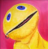 Zippy 1990 by Marc Heaton, Painting, Oil on Wood