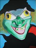 puppet 11 by Marc Heaton, Painting, Acrylic on canvas