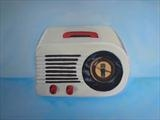 radio by Marc Heaton, Painting, Acrylic on canvas